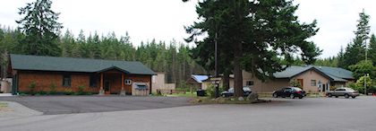 Holmes Harbor Rod and Gun Club Trap Shack and Clubhouse